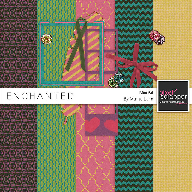 Enchanted Mini Kit Freebie by Marisa Lerin