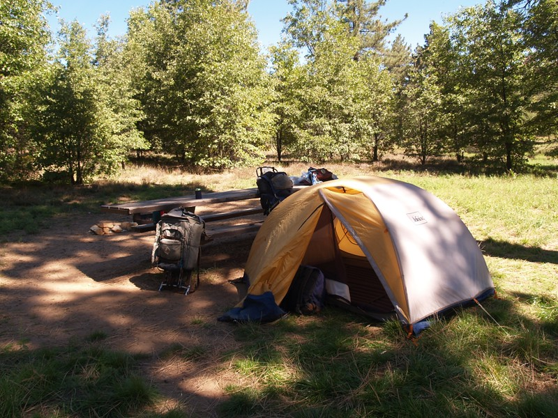 2-Person campsite in Laguna Campground