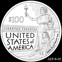 2014 American Eagle Platinum design AEP_R_05