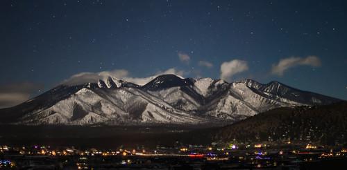 arizona sky panorama clouds landscape flagstaff sanfranciscopeaks thebestof autoimport nightandlowlightphotography