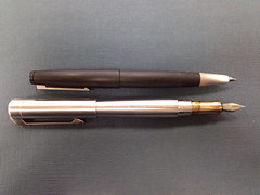 Karas Kustoms Ink Fountain Pen prototype.