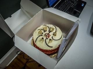 Time Lapse Workshop Cake