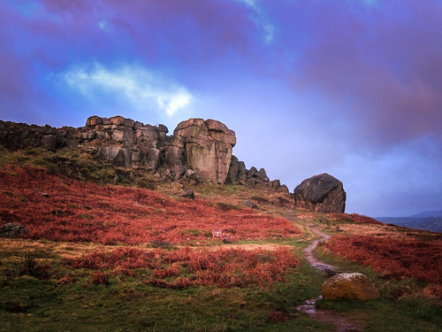 sunrise yorkshire ilkley ilkleymoor cowandcalf