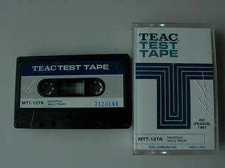 TEAC Alignment Tape (MTT-121N)