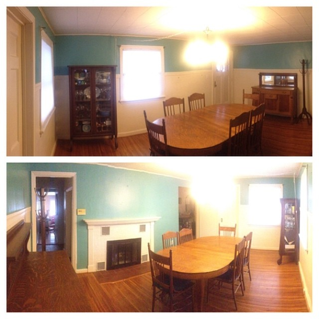 I've decided to pick a room in my house each month in 2014 and give it a facelift. I'm starting in the dining room! #goodintentions #wewillseehowlongthislasts