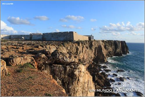 Fortaleza de Sagres. Portugal. Algarve 2012.