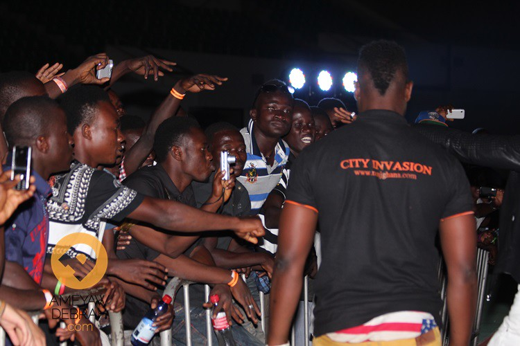 city invasion concert tamale