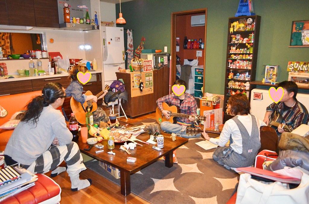 Gさん誕生日サニー家ギター教室。 (6)-1