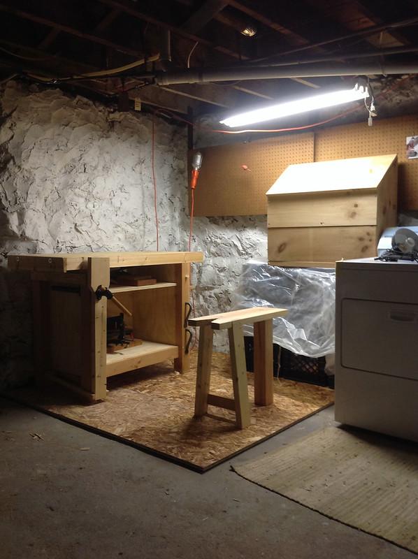 Basment Shop -- Finished