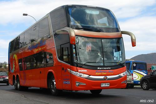 Pullman Bus en La Serena | Marcopolo Paradiso 1800 DD / FFTP98