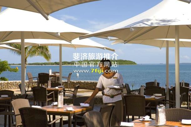 """斐济索菲特水疗度假村(Sofitel Fiji Resort & Spa)""""盐""""餐厅"""