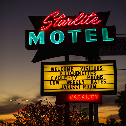 sunset arizona usa neon unitedstates fav50 unitedstatesofamerica motel mesa fav10 fav25 starlitemotel fav100