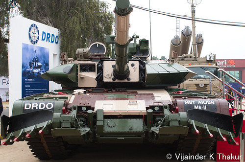 Arjun Mk-2 at DefExpo 2014 by sensorbliss