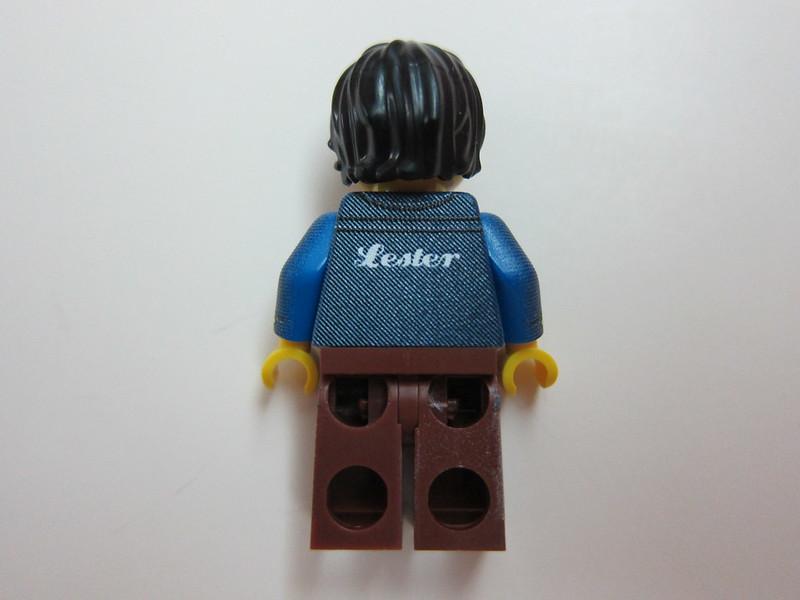 Lester Custom Minifig - Back