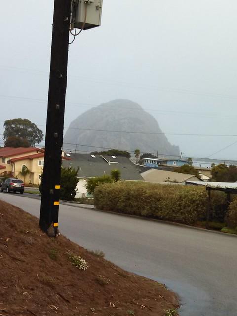 A Foggy Morro Rock