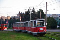 Nizniy Novgorod tram train 71-605 3445