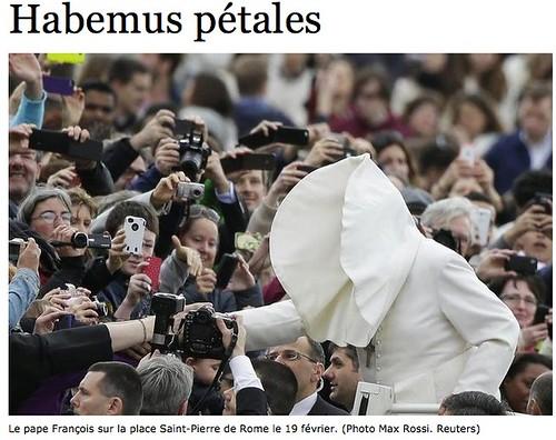 Pontifex's social media guard