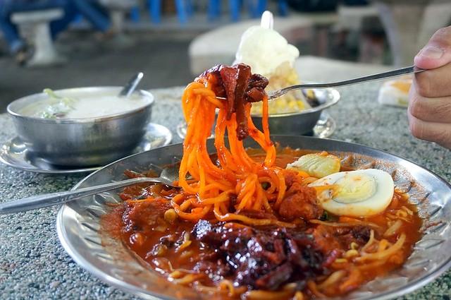 Mee Sotong Penang & Coconut Shake - (Halal) at Padang Kota (Esplanade) -013