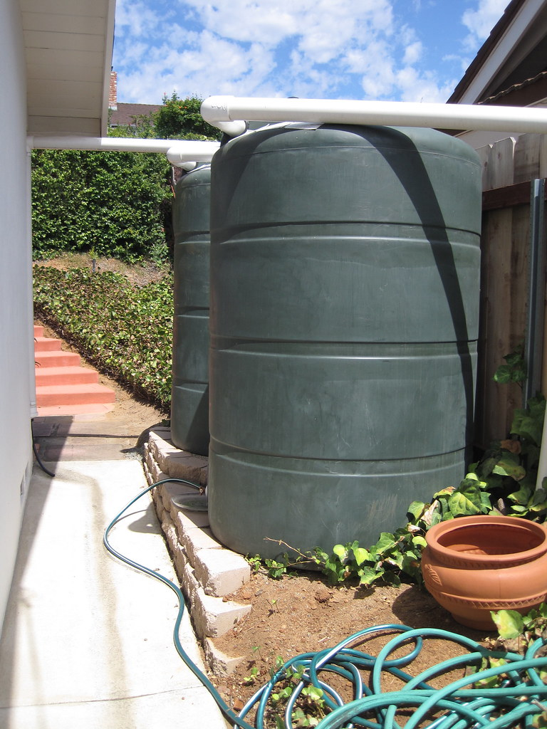 rainwater tank installation | Learn more about rainwater har… | Flickr