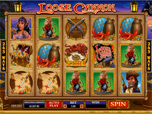 Loose Cannon slot game online review