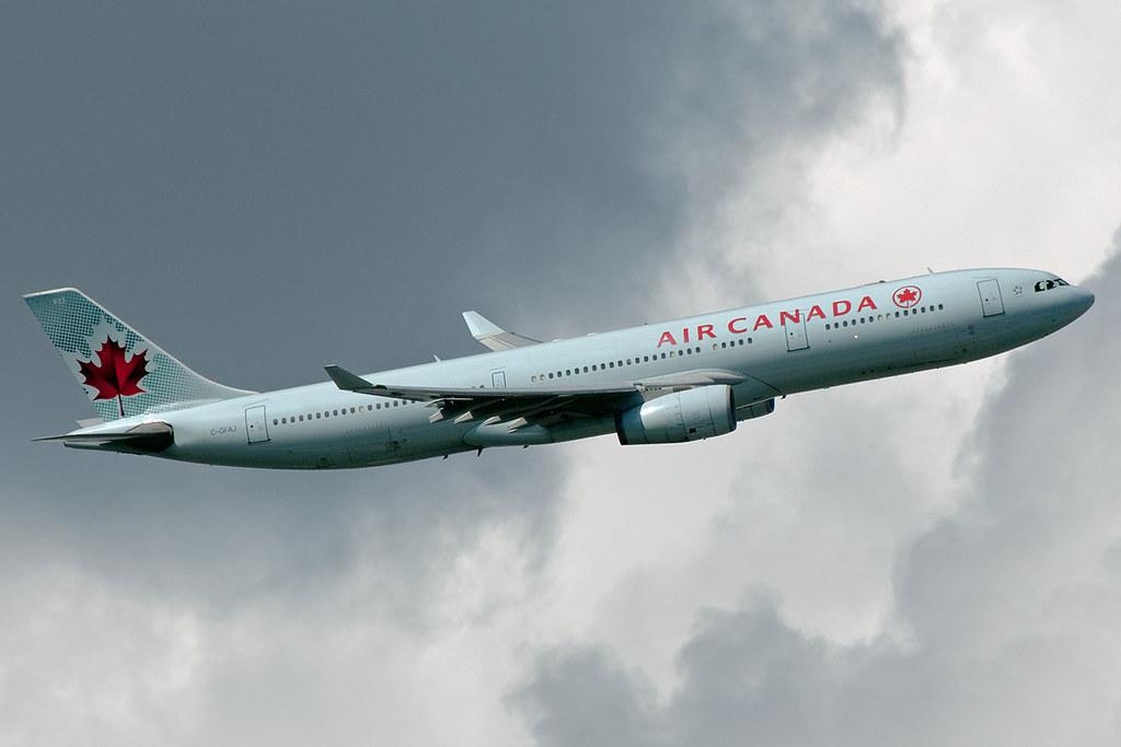 C-GFAJ - A333 - Air Canada