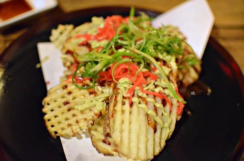 The dojo vegan friendly japanese bar food in north for Bar food vegetarian