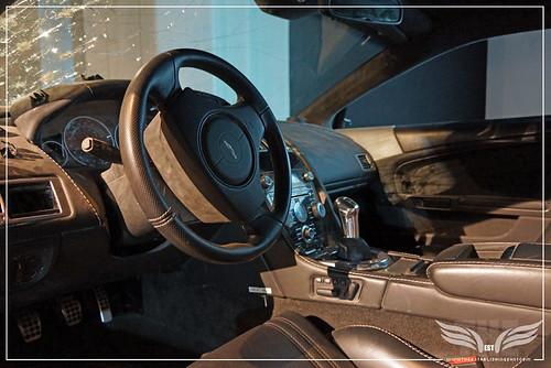 The Establishing Shot: BOND IN MOTION - ASTON MARTIN DBS INTERIOR FROM QUANTUM OF SOLACE @ LONDON FILM MUSEUM COVENT GARDEN by Craig Grobler