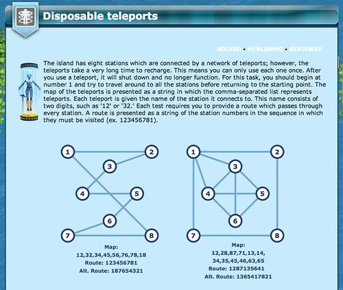 CheckIO Teleport