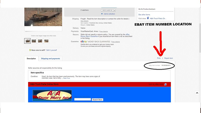 how to delete an item on ebay history