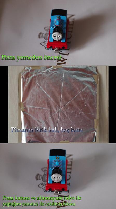 Pizzadan once ve sonra-Yansitici