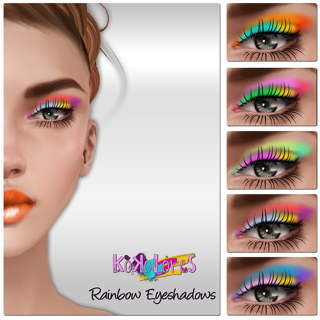 [KoKoLoReS] Rainbow Eyeshadows