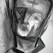 Ash Wednesday Self Portrait 2012 by Stephen B. Whatley by Stephen B. Whatley