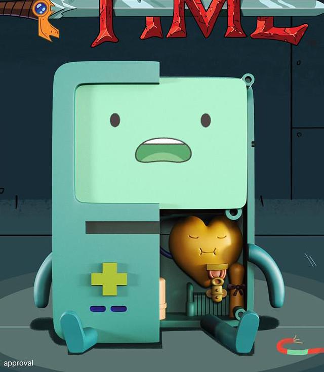 【嗶莫 & 老皮也登場了!】震撼聯名公開!MightyJaXX × Jason Freeny 《探險活寶》XXRAY Adventure Time