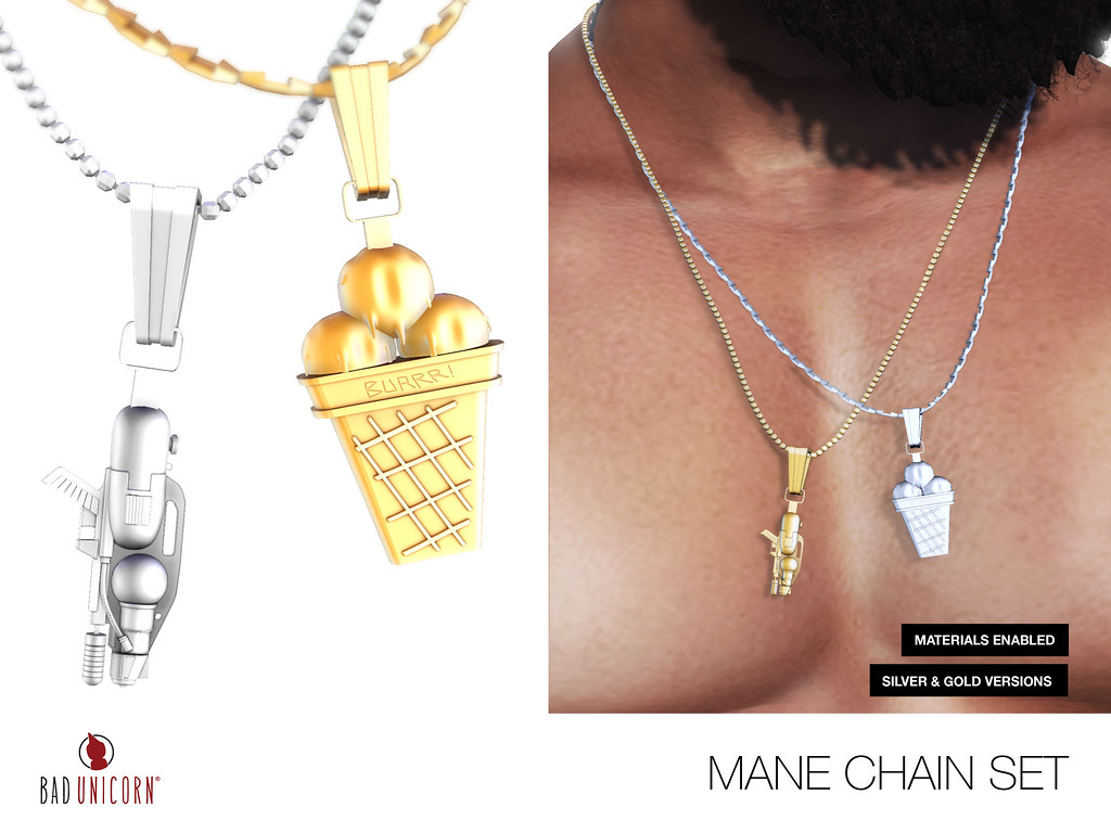 NEW! Mane Chain Set @ Versus Event - SecondLifeHub.com