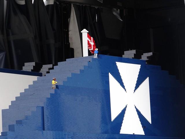 Największy statek z klocków Lego 7