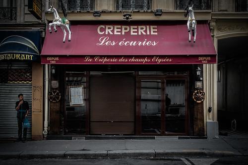 Creperie, Paris, 2015