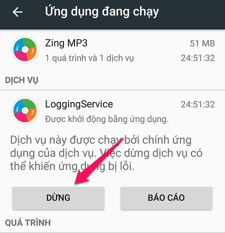 Hướng dẫn tắt ứng dụng chạy ngầm trên Android - Cách tắt ứng dụng chạy ngầm trên Android