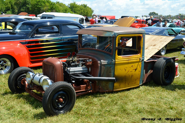 The 2016 Meltdown Drags & Car Show.  Byron, Illinois.  bcs27