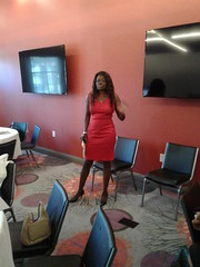 Tania presents her home loan knowledge at the 2017 FOCUS ON LIVING VICTORIOUSLY event at the Homewood Suites in Trophy Club Texas