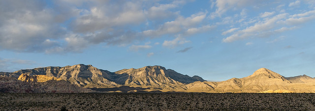 Sunset in Red Rock Canyon National Conservation Area