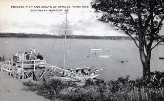 1930's Spruce Point Inn sailing cruise with Roger Duncan