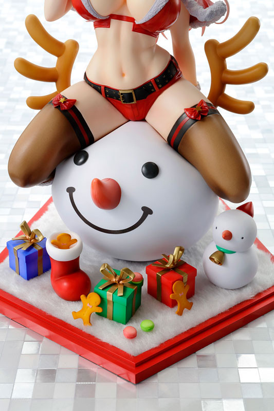 超級索尼子「聖誕版本」歡樂登場!すーぱーそに子 クリスマスVer. 1/7 完成品フィギュア