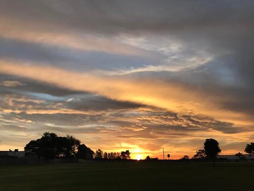 Another lovely Australian sunset. #sunset #outdoors #Australia #visitnsw #lifeinthelanddownunda #nofilter #iphoneonly #igau