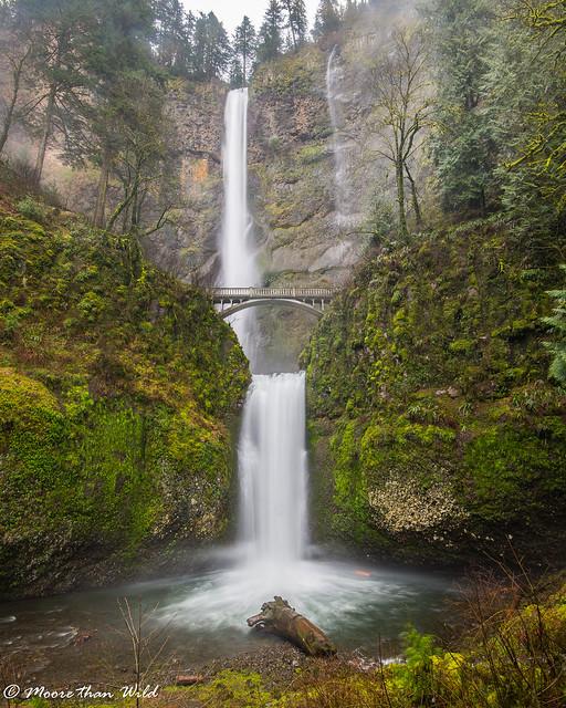 Multnomah Falls, Nikon D800, AF-S Nikkor 16-35mm f/4G ED VR