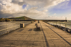 The Wooden Jetty,Aberystwyth
