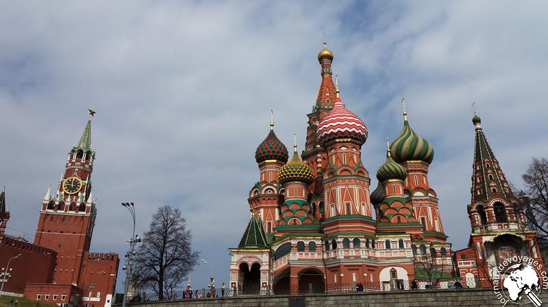 Le Kremlin et la cathédrale Basile le Bienheureux