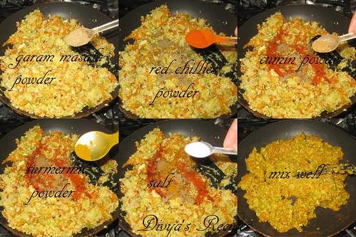 mixed veg parataha6