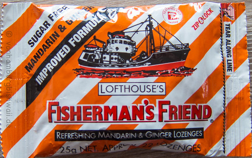 Fisherman's Friend Mandarin & Ginger