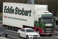 Volvo FH 6x2 Tractor - PX11 CCV - Heather Jane - Eddie Stobart - M1 J10 Luton - Steven Gray - IMG_8163