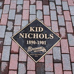Atlanta - Turner Field: Walk of Fame - Kid Nichols